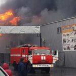 При пожаре на рынке в Ростовской области никто не пострадал