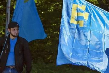 Крымские татары вышли на одиночные пикеты