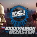 Баттл Oxxxymiron и американского рэпера Dizaster пройдет в Лос-Анджелесе