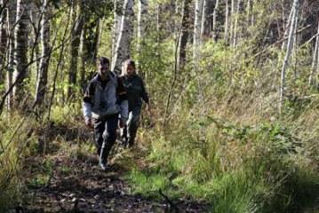 В Ленинградской области заблудившийся грибник провел в лесу 11 дней