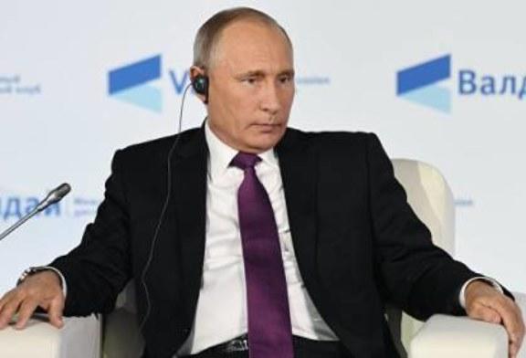 Путин отметил рост российской экономики и рекордно низкую инфляцию