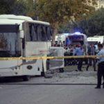 В Турции при взрыве около автобуса с полицией пострадали минимум 12 человек