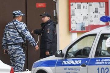 Здание инфоцентра НАТО в Москве закидали дымовыми шашками