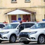 Не 1 и не 2 тыс. долларов: Полицейские рассадили сразу два новых Mitsubishi Outlander PHEV (фото)