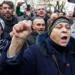 Выгодный протест: почему продолжается акция Саакашвили в Киеве