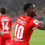 «Спартак» уничтожил «Севилью» в Лиге чемпионов, забив пять мячей