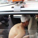 Сибиряк угнал машину без штанов по просьбе всевышнего