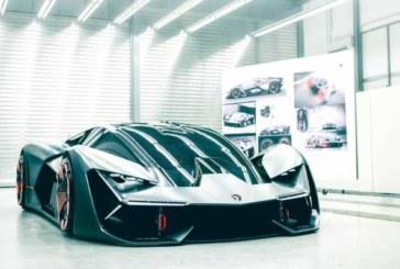 Страшный сон жестянщика: суперкар будущего от Lamborghini отремонтирует себя сам