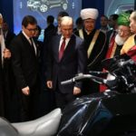 Путину показали тяжелый мотоцикл «Иж»