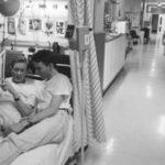 Исторический фоторепортаж из отделения для больных СПИДом в Лондоне