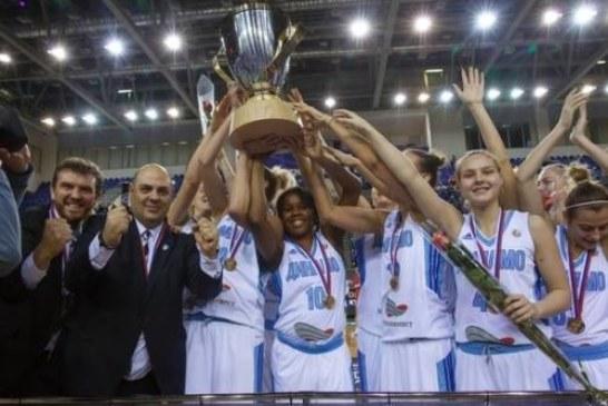 Баскетбол: женское «Динамо» завоевало долгожданный Кубок России