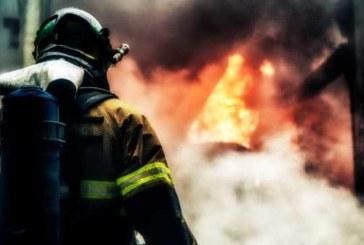 В крупном пожаре на юге Москвы сгорели два Bentley и один автосервис