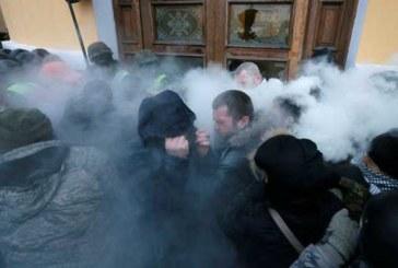 Послы Канады и Великобритании осудили захват Октябрьского дворца в Киеве