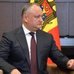 Додон пообещал не допустить ограничения вещания российских ТВ-каналов