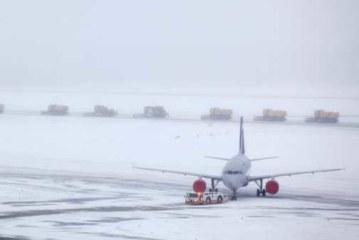 Около 50 авиарейсов отменено в Москве из-за снегопада