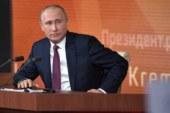 Путин рассказал почему развивается скандал вокруг российских спортсменов