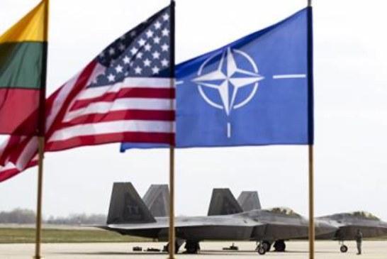 ВВС НАТО один раз за неделю сопроводили самолеты ВКС РФ, заявили в Литве
