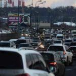 В Москве в среду вечером прогнозируют девятибалльные пробки