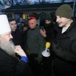 Украинские националисты заблокировали Киево-Печерскую лавру