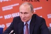Путин рассказал, где провел новогодние праздники