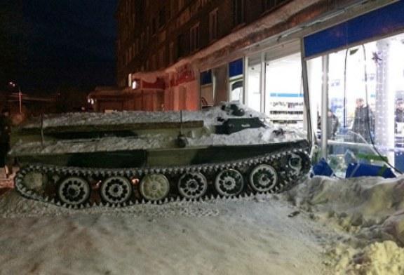 «Обожаю русских»: британцы об угонщике БТР, въехавшем в магазин ради вина