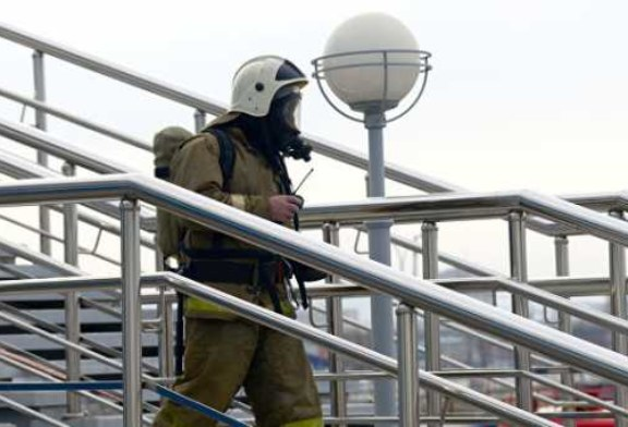 В Москве загорелся IT-технопарк
