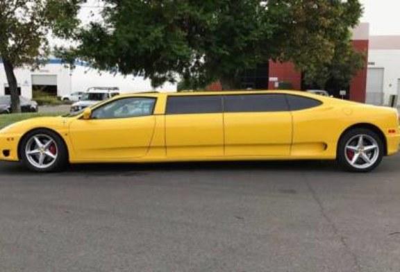 Ferrari 360 Limo: самый редкий лимузин в мире не смогли продать на eBay