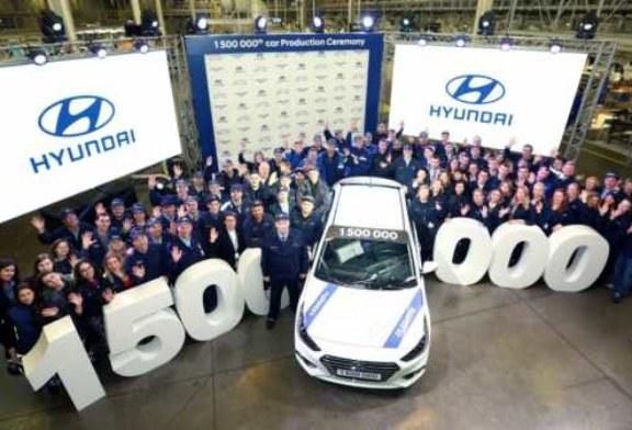 Полуторамиллионным Hyundai стал Solaris