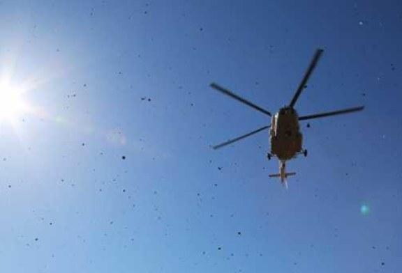 На севере Красноярского края Ми-8 совершил жесткую посадку