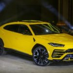 В Россию приехал суперкроссовер Lamborghini