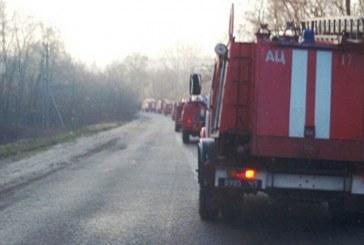В Николаевской области Украины произошел пожар на складе маслозавода