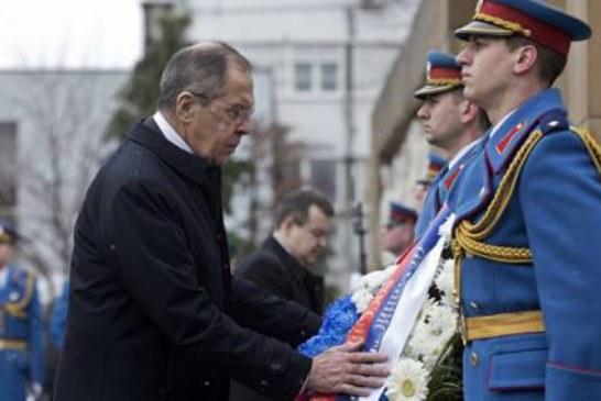 Лавров о визите в Белград: не помню такого доброго приема, как в Сербии