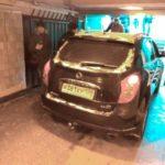 Пенсионер въехал в подземный переход метро на кроссовере, чтобы испытать машину