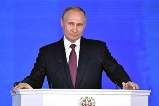 О людях, экономике и новом оружии: Путин обратился к Федеральному Собранию