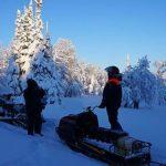 Туриста подвели лыжи