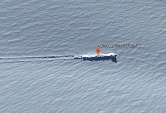 В Антарктиде нашли упавший «корабль инопланетян»