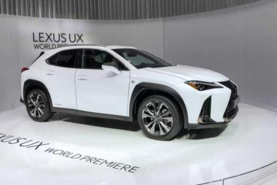 Встречаем самый компактный кроссовер Lexus UX