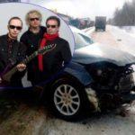 Рок-группа «Пикник» попала в лобовую аварию на трассе