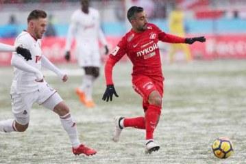 «Локомотив» и«Спартак» несумели выявить победителя вматче РФПЛ