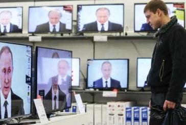 Путин перед выборами заполнил весь эфир