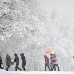 В Москве последствия снегопада устраняют около 10 тысяч единиц спецтехники