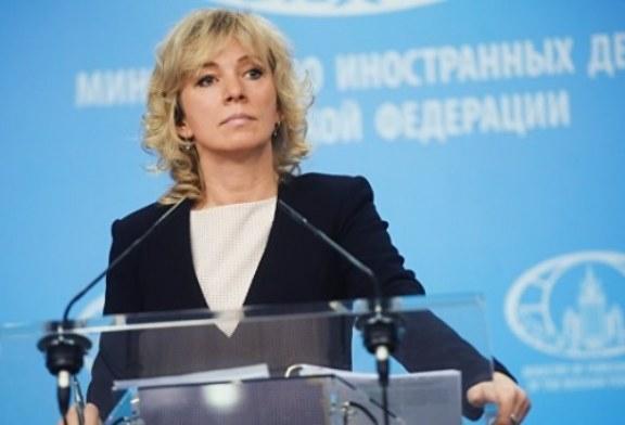 Захарова ответила на слова о «ведущих в Кремль» следах преступлений