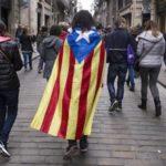 В Барселоне проходит акция с требованием освободить каталонских политиков