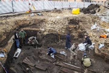 В Туле обнаружили старинное захоронение