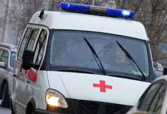 В Саратовской области на трассе автомобиль скорой помощи вылетел в кювет