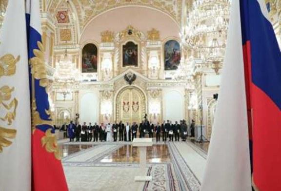 Россия будет укреплять глобальную безопасность, заявил Путин