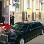 Первый выход царь-лимузина: Путин все-таки поехал на инаугурацию в «Кортеже» (много фото)
