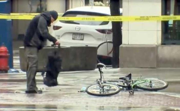 Полицейские в США задержали «обезвредившего» рюкзак велосипедиста