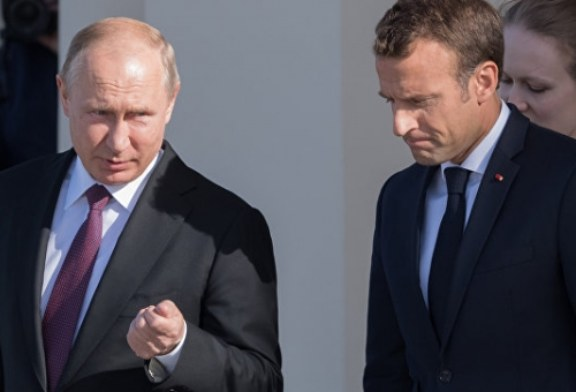 Макрон призвал Москву совместно обеспечивать коллективную безопасность