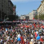 В Москве началось шествие «Бессмертного полка»